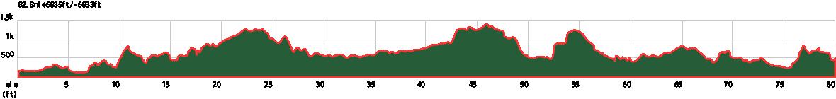 Settle Elevation Graph