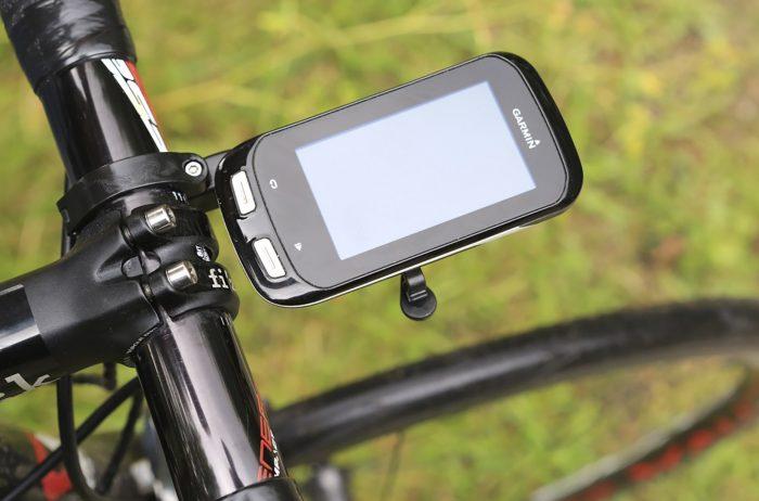 GPS on handlebars