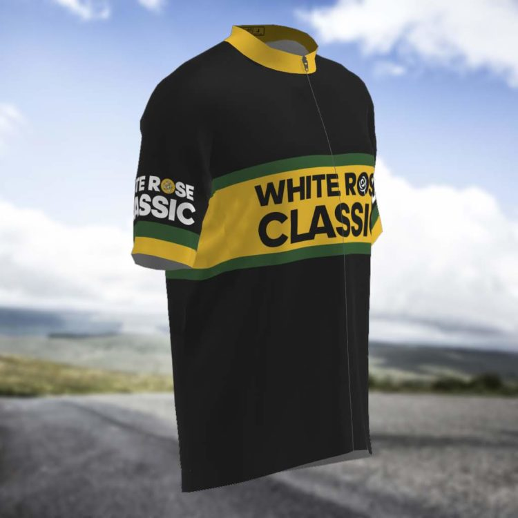 Black Short Sleeved Cycling Jersey